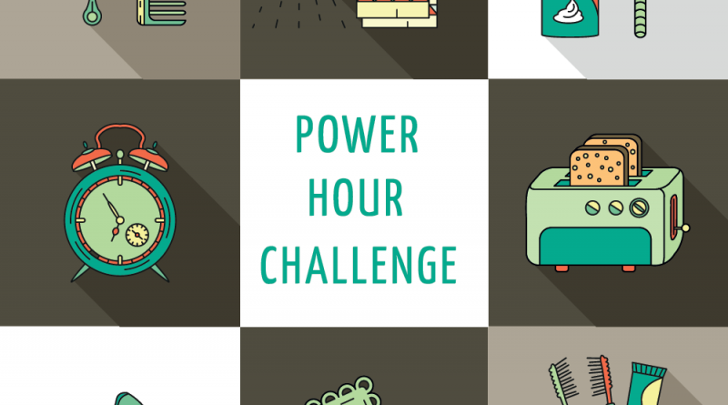 """Morning """"Power Hour"""" Challenge – done right the authorities don't get called!"""
